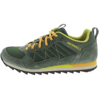 Cipők Férfi Rövid szárú edzőcipők Merrell J62447 Zöld
