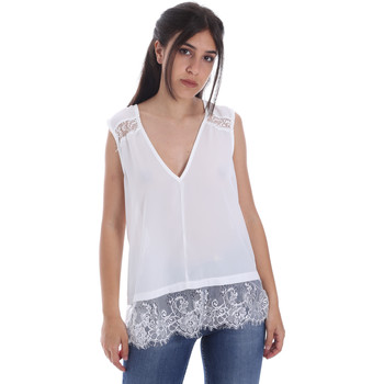 Ruhák Női Blúzok Gaudi 011FD45055 Fehér