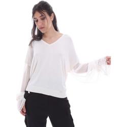 Ruhák Női Blúzok Gaudi 011FD53007 Fehér