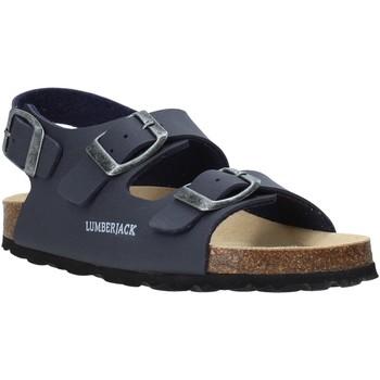 Cipők Gyerek Szandálok / Saruk Lumberjack SB78706 001 S03 Kék