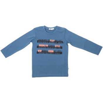 Ruhák Gyerek Hosszú ujjú pólók Melby 70C5524 Kék