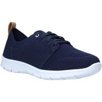Cipők Női Rövid szárú edzőcipők Clarks 26138028 Kék