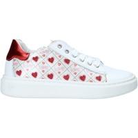 Cipők Lány Rövid szárú edzőcipők Melania ME2252D0S.A Fehér