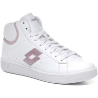 Cipők Női Magas szárú edzőcipők Lotto 212080 Fehér