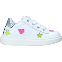 Cipők Lány Rövid szárú edzőcipők Melania ME1280B0S.B Fehér