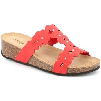 Cipők Női Papucsok Grunland CB2491 Piros