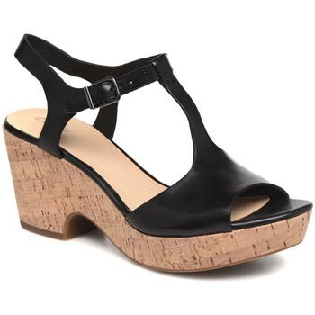 Cipők Női Szandálok / Saruk Clarks 26142156 Fekete