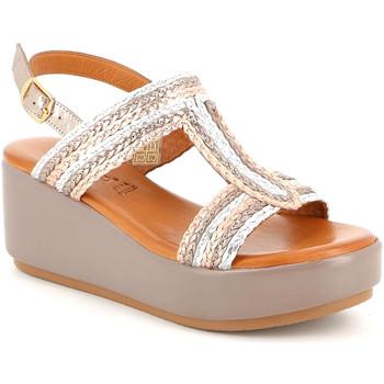 Cipők Női Szandálok / Saruk Grunland SA2489 Bézs