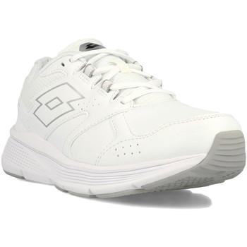 Cipők Férfi Rövid szárú edzőcipők Lotto 211823 Fehér
