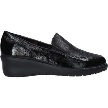Cipők Női Mokkaszínek Grunland SC5004 Fekete