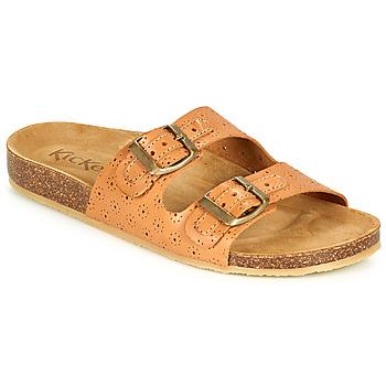 Cipők Női Papucsok Kickers ECOLOG Teve / Tiszta