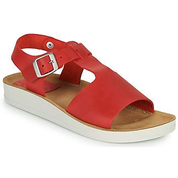 Cipők Női Szandálok / Saruk Kickers ODILOO Piros