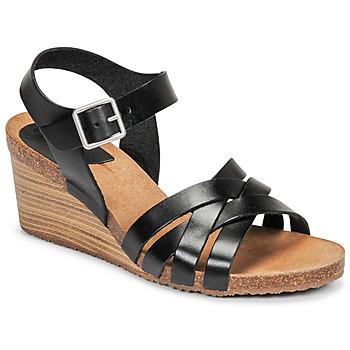 Cipők Női Szandálok / Saruk Kickers SOLYNIA Fekete