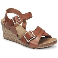 Cipők Női Szandálok / Saruk Kickers SPAINSTRAP Barna