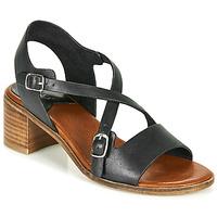 Cipők Női Szandálok / Saruk Kickers VOLUBILIS Fekete