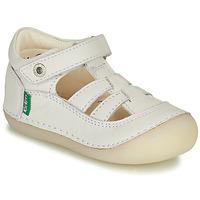 Cipők Lány Balerina cipők  Kickers SUSHY Fehér