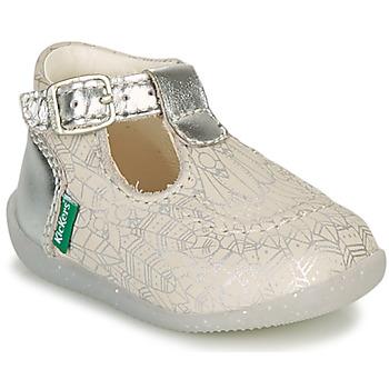 Cipők Lány Balerina cipők  Kickers BONBEK-2 Ezüst
