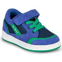 Cipők Fiú Rövid szárú edzőcipők Kickers BISCKUIT Kék