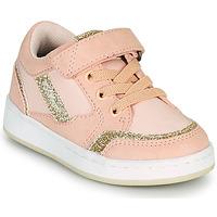 Cipők Lány Rövid szárú edzőcipők Kickers BISCKUIT Rózsaszín