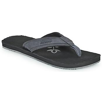 Cipők Férfi Lábujjközös papucsok Oxbow VALLY Fekete