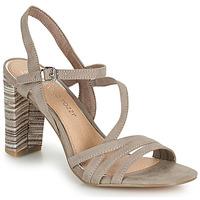 Cipők Női Szandálok / Saruk Marco Tozzi BALEINA Bézs