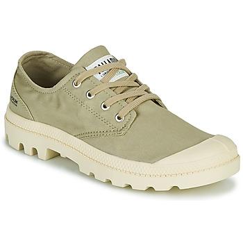 Cipők Rövid szárú edzőcipők Palladium PAMPA OX ORGANIC II Zöld