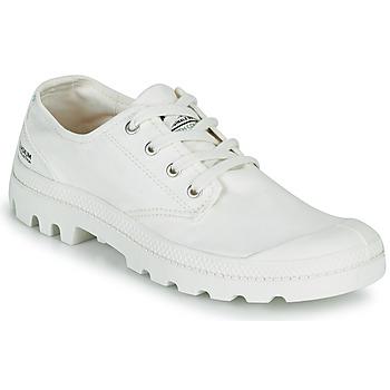 Cipők Rövid szárú edzőcipők Palladium PAMPA OX ORGANIC II Fehér