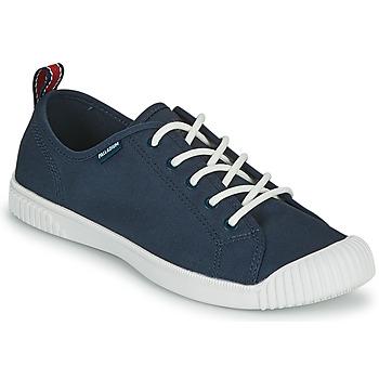 Cipők Női Rövid szárú edzőcipők Palladium EASY LACE Tengerész