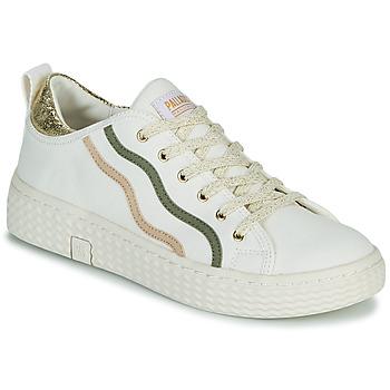 Cipők Női Rövid szárú edzőcipők Palladium Manufacture TEMPO 02 CVSG Fehér