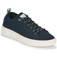 Cipők Női Rövid szárú edzőcipők Palladium Manufacture TEMPO 06 KNIT Tengerész