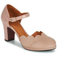 Cipők Női Félcipők Chie Mihara SELA Rózsaszín / Bézs