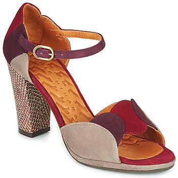 Cipők Női Szandálok / Saruk Chie Mihara ADAIR Bordó / Bézs