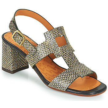 Cipők Női Szandálok / Saruk Chie Mihara LUSCA Fekete  / Bézs