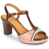 Cipők Női Szandálok / Saruk Chie Mihara NATI Barna / Rózsaszín / Zöld