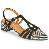 Cipők Női Félcipők Chie Mihara ROSALI Fekete  / Bézs