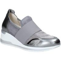 Cipők Női Belebújós cipők Melluso R20413 Ezüst