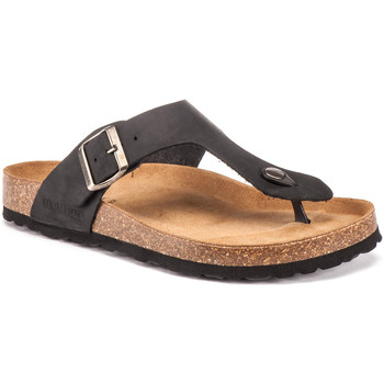 Cipők Férfi Lábujjközös papucsok Lumberjack SM45006 001 D05 Fekete