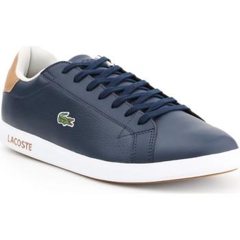 Cipők Férfi Rövid szárú edzőcipők Lacoste Graduate LCR3 118 1 SPM 7-35SPM00134C1 granatowy, brązowy