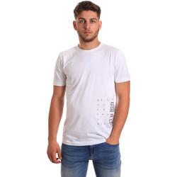 Ruhák Férfi Rövid ujjú pólók Antony Morato MMKS01223 FA100144 Fehér