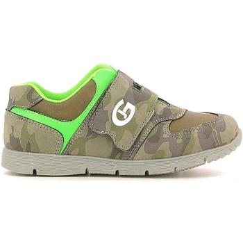 Cipők Gyerek Rövid szárú edzőcipők Grunland PP0157 Zöld