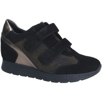 Cipők Női Rövid szárú edzőcipők Keys 7079 Fekete