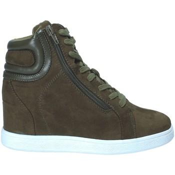 Cipők Női Magas szárú edzőcipők Fornarina PI18EL1147S034 Zöld