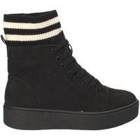 Cipők Női Magas szárú edzőcipők Fornarina PI18HR1128S000 Fekete