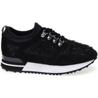 Cipők Női Rövid szárú edzőcipők Apepazza FNY03 Fekete