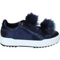 Cipők Női Belebújós cipők Apepazza HYB04 Kék
