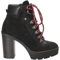 Cipők Női Bokacsizmák Janet Sport 42901 Fekete