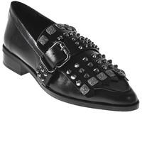Cipők Női Mokkaszínek Elvio Zanon I7704G Fekete