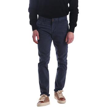 Ruhák Férfi Chino nadrágok / Carrot nadrágok Automatic PAU22172 Kék