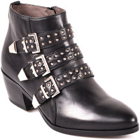 Cipők Női Bokacsizmák NeroGiardini A806503D Fekete