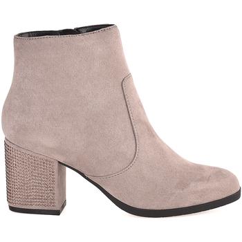 Cipők Női Bokacsizmák Gattinoni PINVK0763W Bézs